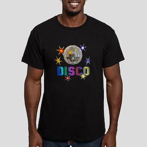 Disco Men's Fitted T-Shirt (dark)