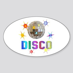 Disco Oval Sticker