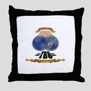 =TeaBaggers United= Throw Pillow