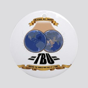 =TeaBaggers United= Ornament (Round)
