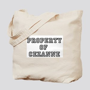 Property of Cezanne Tote Bag