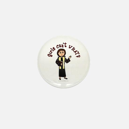 Light Preacher Mini Button