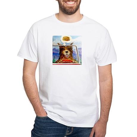 Hamburger Dan White T-Shirt