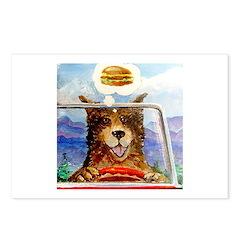 Hamburger Dan Postcards (Package of 8)