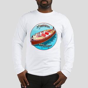 The Manistee, Michigan Long Sleeve T-Shirt