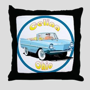 The Celina, Ohio Throw Pillow