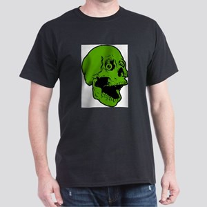 green skully Dark T-Shirt