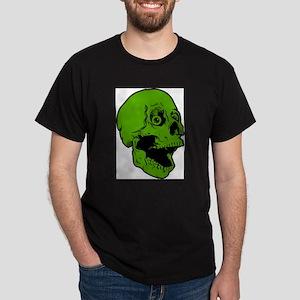 green skully Dark T-Shirt