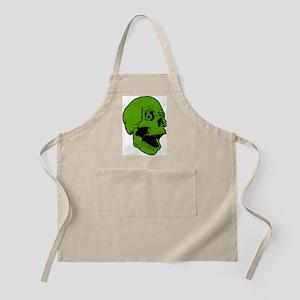 green skully BBQ Apron