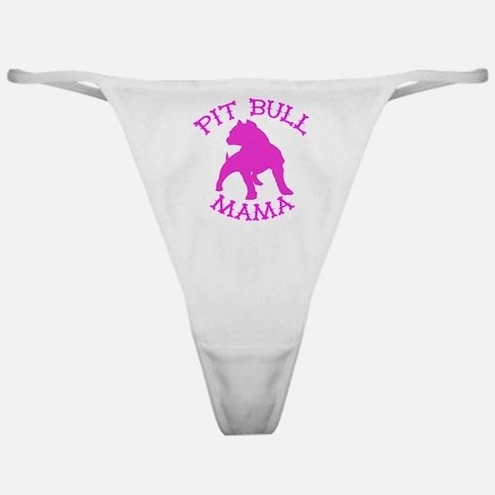 Pitbull Mama Solid Classic Thong