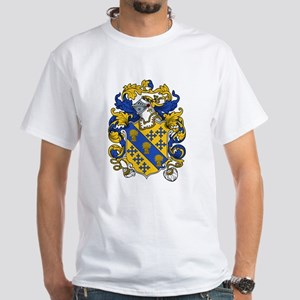 Bancroft Coat of Arms White T-Shirt