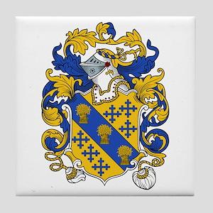 Bancroft Coat of Arms Tile Coaster