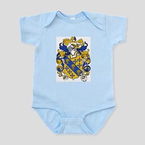 Bancroft Coat of Arms Infant Creeper