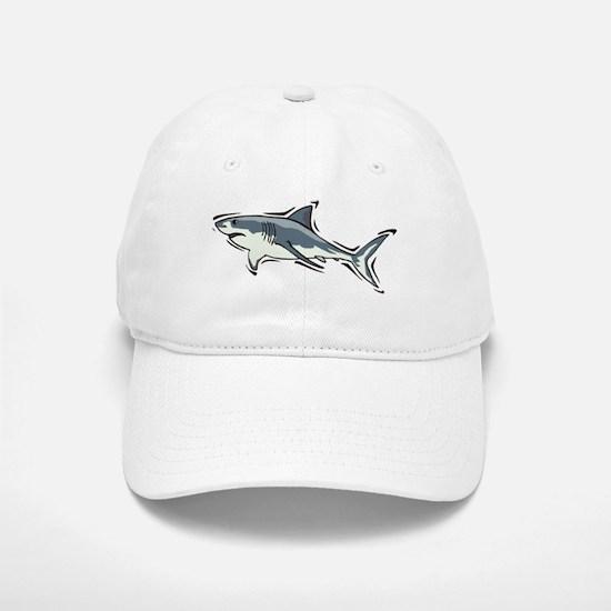 SHARK (21) Baseball Baseball Cap