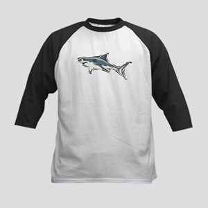 SHARK (21) Kids Baseball Jersey