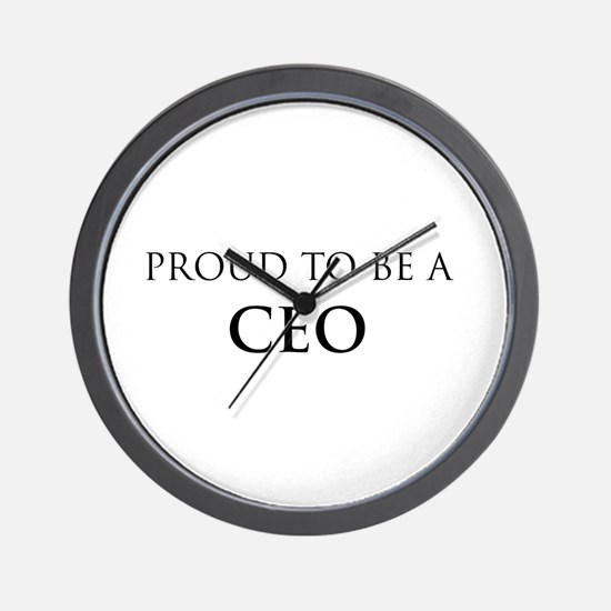 Proud CEO Wall Clock