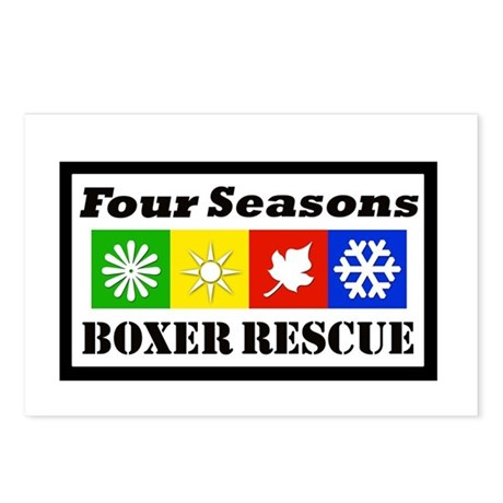 FSBR Logo without Boxer Icon Postcards (Package of