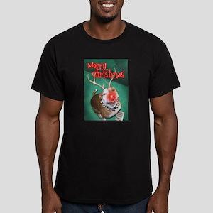 Boodolph Men's Fitted T-Shirt (dark)