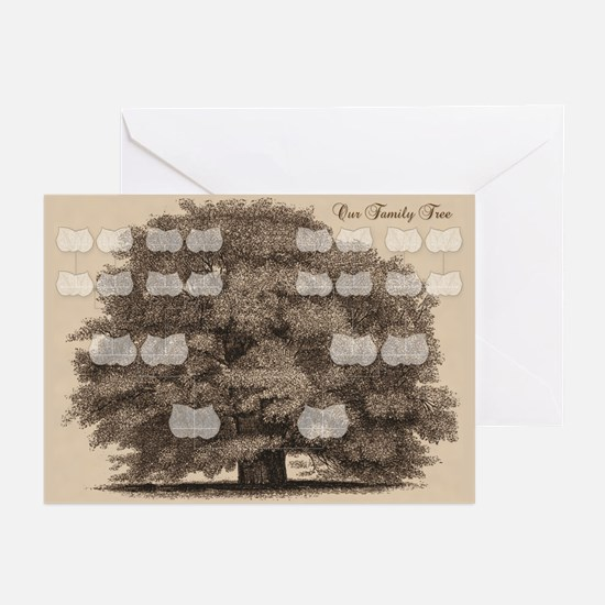 Family Tree Greeting Cards (Pk of 10)