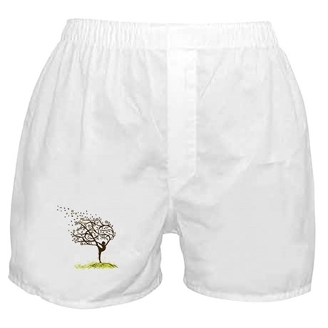 Stretching My Limbs Boxer Shorts