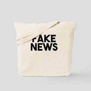 Fake News fashionable Post Truth Tote Bag