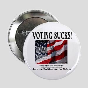 VOTING SUCKS! Button