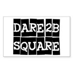 New Way Space Models Rectangle Sticker 10 pk)