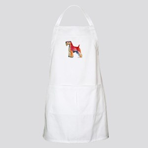 Soft Coated Wheaten Terrier watercolor BBQ Apron