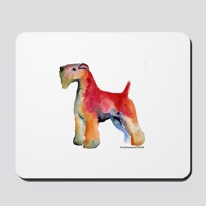 Soft Coated Wheaten Terrier watercolor Mousepad