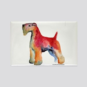 Soft Coated Wheaten Terrier watercolor Rectangle M