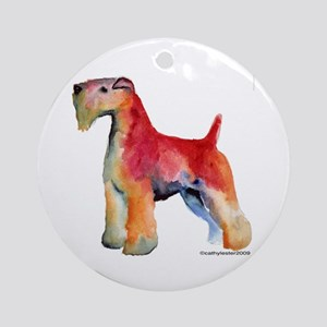 Soft Coated Wheaten Terrier watercolor Ornament (R