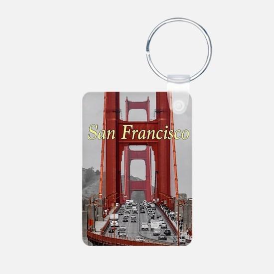 Cute San francisco souvenirs Keychains