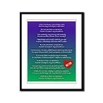 Cills Song Framed Panel Print