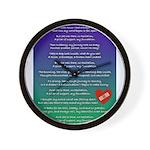 Cills Song Wall Clock