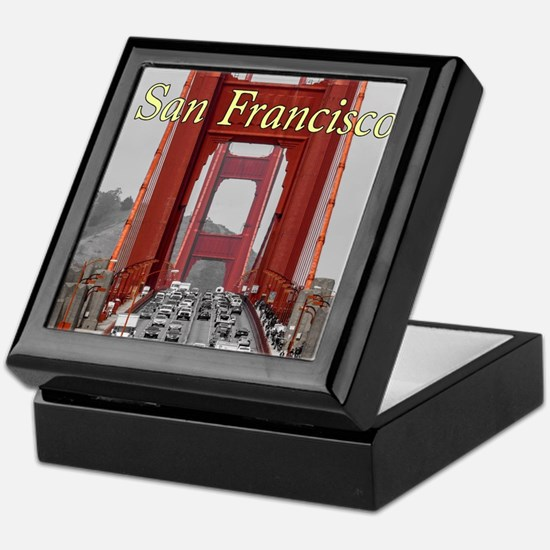 Golden Gate Bridge San Francisco Keepsake Box