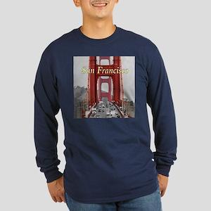 Golden Gate Bridge San Francis Long Sleeve T-Shirt
