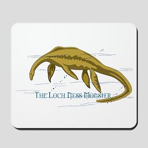 Loch Ness Monster Mousepad