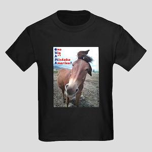 OBAMA - One Big A** Mistake A Kids Dark T-Shirt