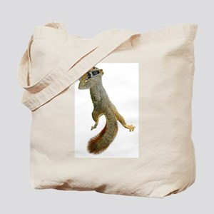 Squirrel Cell Phone Tote Bag