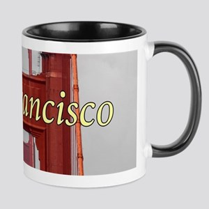 Golden Gate Bridge San Francisco Mugs