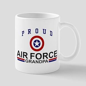 Proud Air Force Grandpa Mug