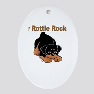 Peggy Rose Designs Oval Ornament
