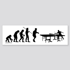 Pong Evolution Bumper Sticker (10 pk)
