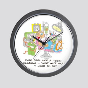 ... just ain't what it used t Wall Clock