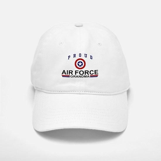 Proud Air Force Grandma Baseball Baseball Cap