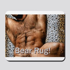 Bear Rug: AriesArtist.com Mousepad