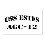 USS ESTES Sticker (Rectangle)