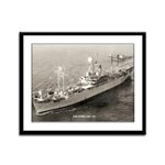 USS ESTES Framed Panel Print