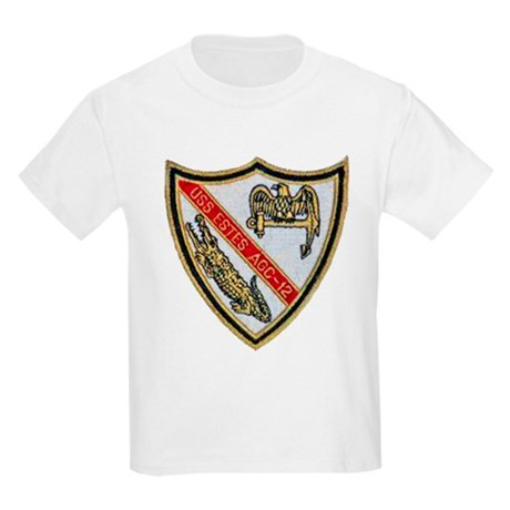 USS ESTES Kids Light T-Shirt