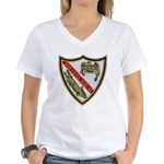 USS ESTES Women's V-Neck T-Shirt
